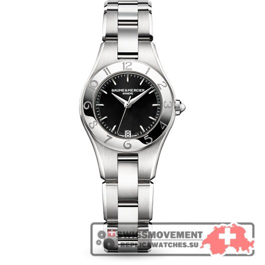 Baume & Mercier Linea 27mm Quartz Black / Bracelet (10010)