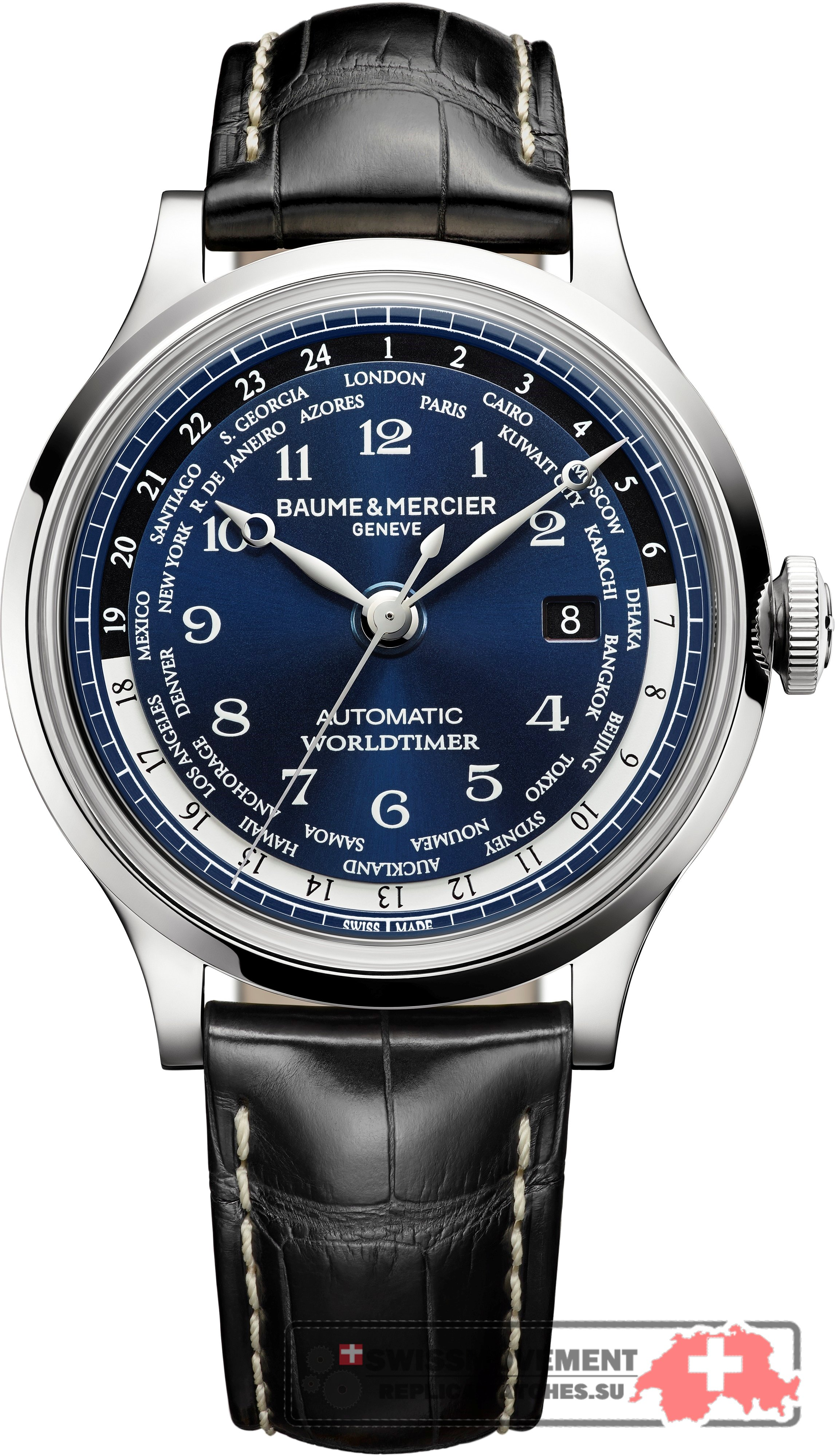 Baume & Mercier Capeland Worldtimer Limited Edition (10135)