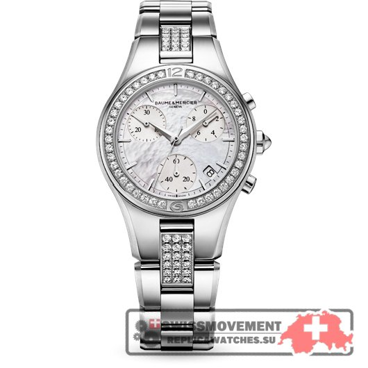 Baume & Mercier Linea Chronograph Quartz 32 Diamond (10017)
