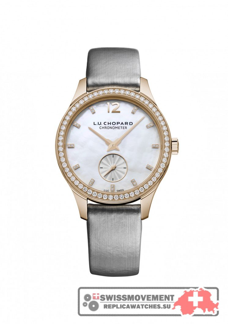 Chopard L.U.C XPS 35mm Rose Gold / MOP (131968-5001)