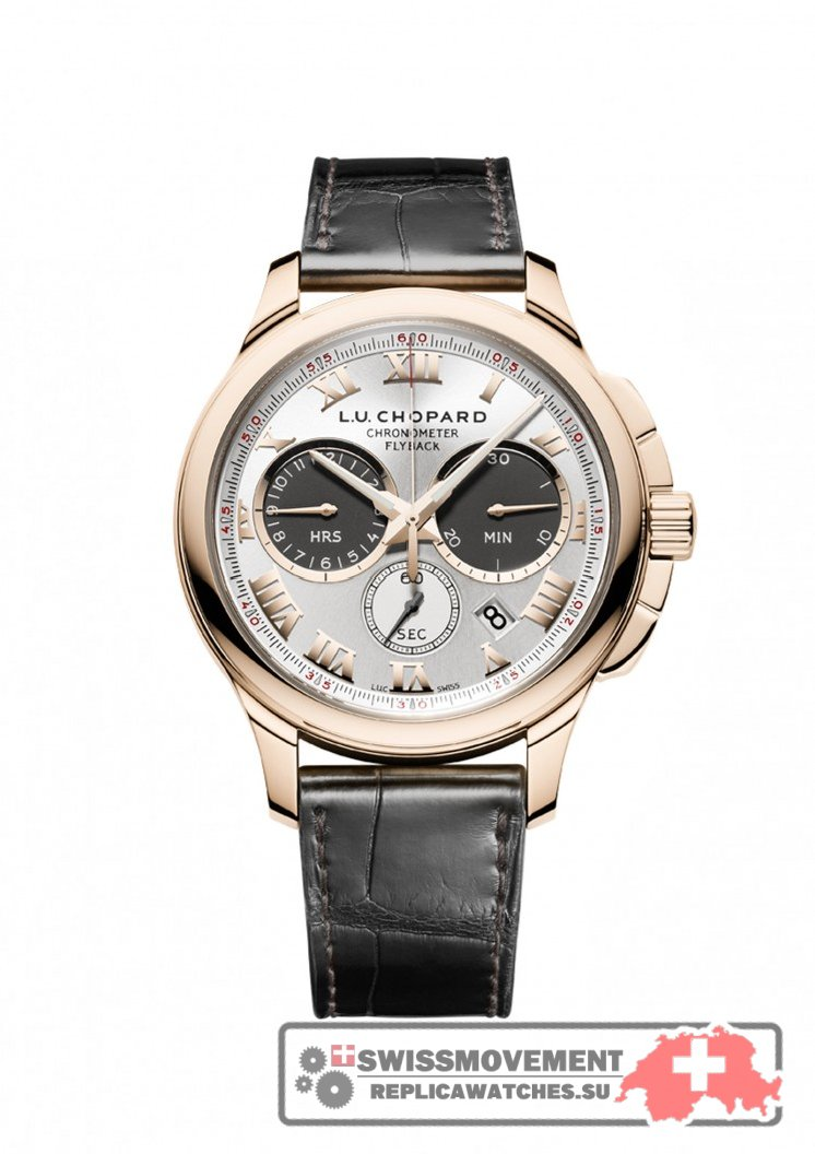 Chopard L.U.C Chrono One Rose Gold (161928-5001)