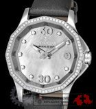 Corum Admirals Cup Grey Mother of Pearl Dial Ladies Watch 08210147/F149PK
