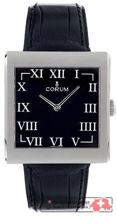 Corum Buckingham Steel Black Men's Watch 157 181 20 0001 BN44