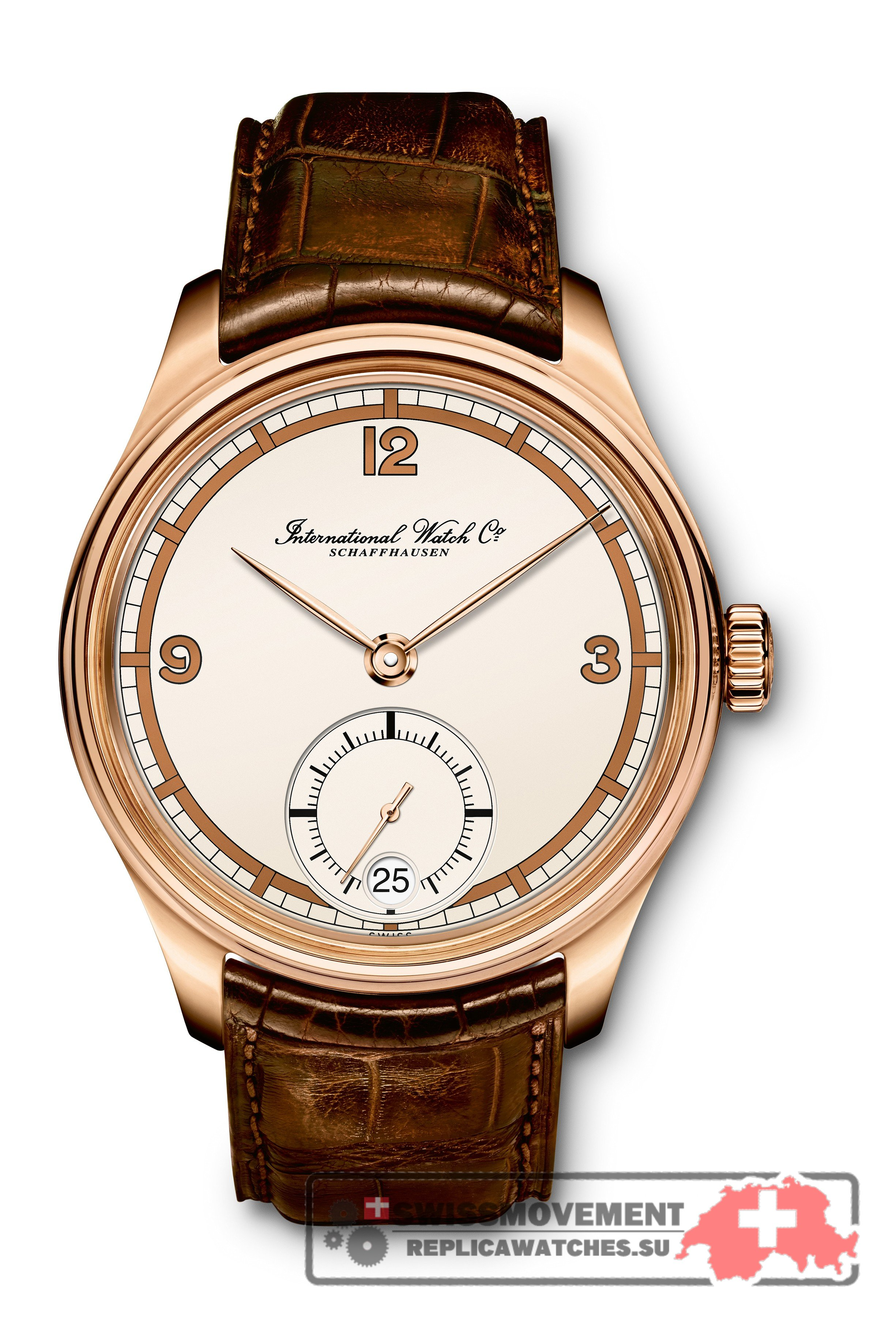 IWC Portugieser Hand-Wound Eight Days 75th Anniversary Red Gold (IW5102-06)