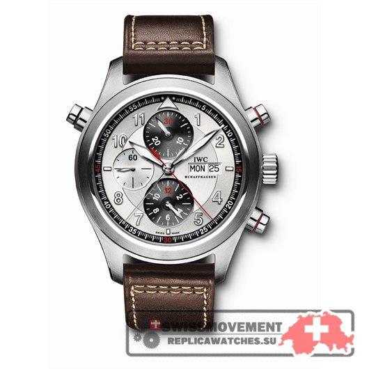 IWC Pilot's Watch Spitfire Double Chronograph (IW3718-02)