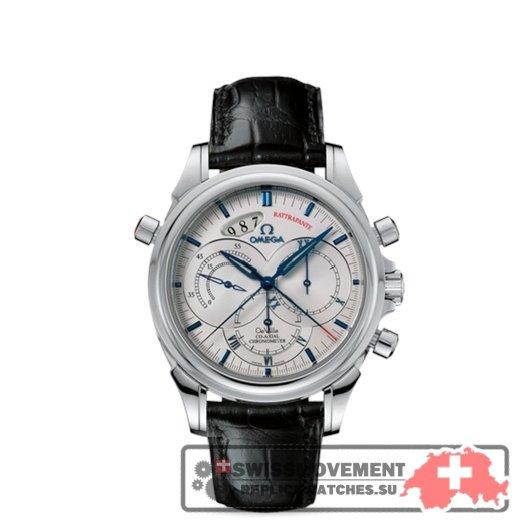 Omega Deville Chronoscope Co-Axial Rattrapante Silver (4847.30.31)