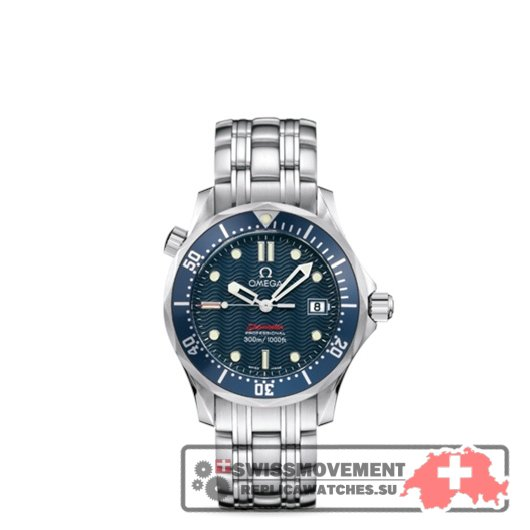 Omega Seamaster Diver 300M Mid-size Co-Axial James Bond (2222.80.00)