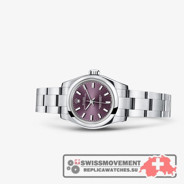 Rolex Oyster Perpetual 26 Red Grape (176200-0016)