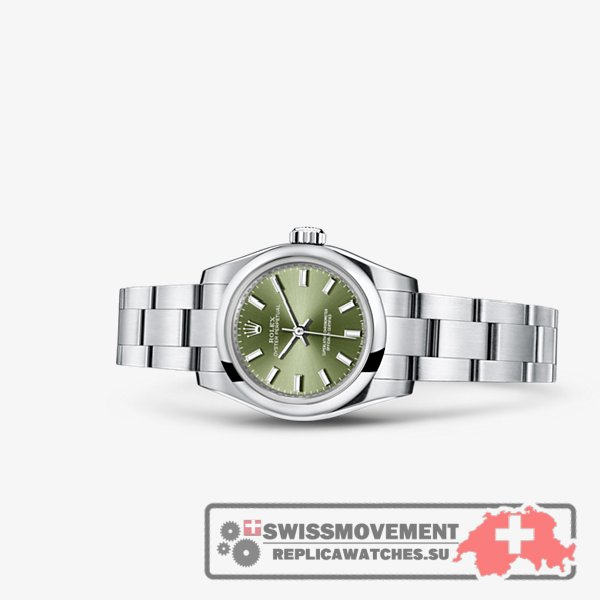 Rolex Oyster Perpetual 26 Olive Green (176200-0014)