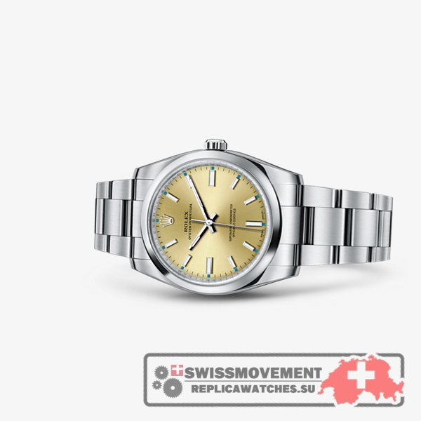 Rolex Oyster Perpetual 34 Champagne (114200-0022)