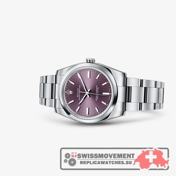 Rolex Oyster Perpetual 34 Red Grape (114200-0020)