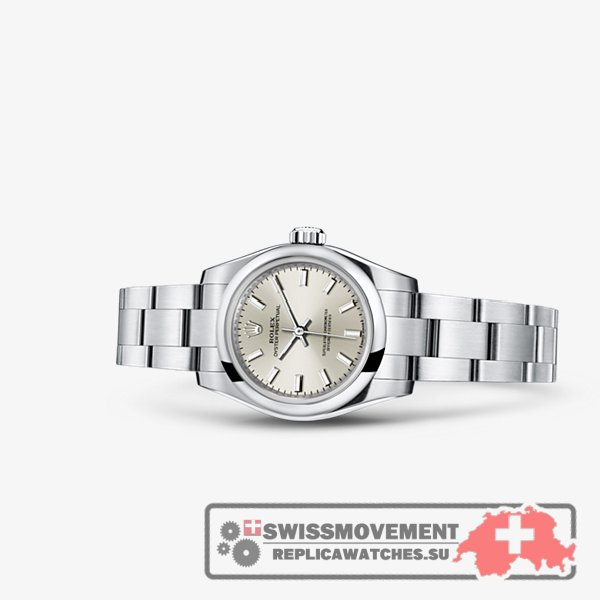 Rolex Oyster Perpetual 26 Silver (176200-0015)