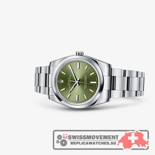 Rolex Oyster Perpetual 34 Olive Green (114200-0021)