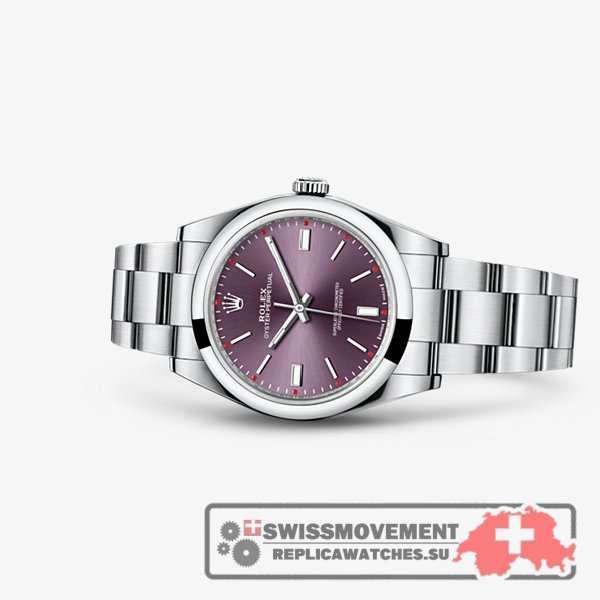 Rolex Oyster Perpetual 39 Red Grape (114300-0002)