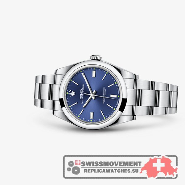 Rolex Oyster Perpetual 39 Blue (114300-0003)